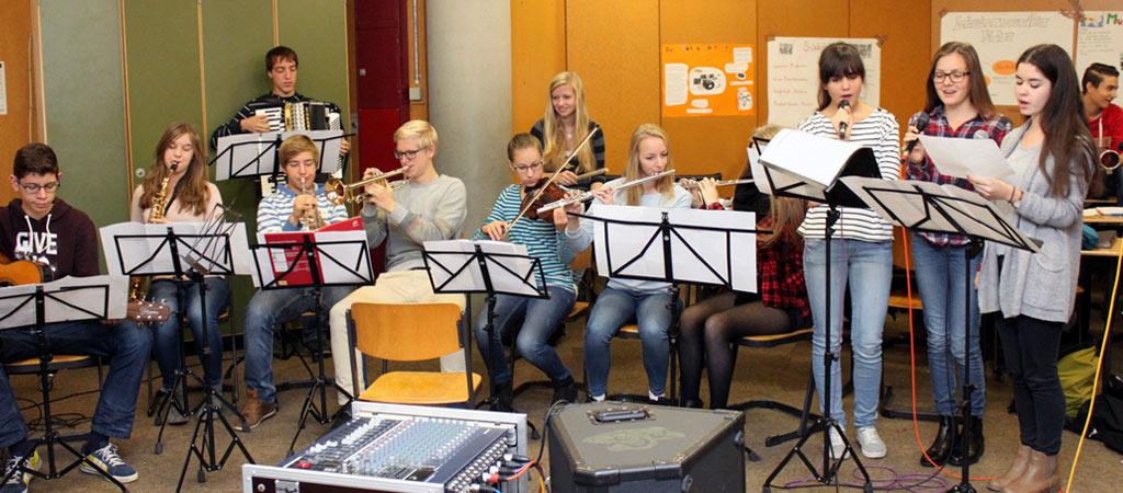 Orchester, Chor und Bands – Musik wird bei uns großgeschrieben
